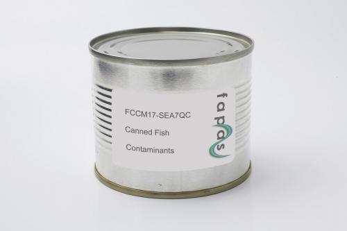 Heavy Metals including Methyl Mercury in Canned Fish Quality Control Material