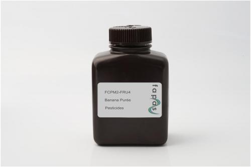 Pesticide Residues in Banana Purée Proficiency Test (List 3)