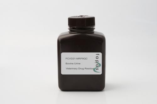 Veterinary Medicines in Bovine Urine Quality Control Material