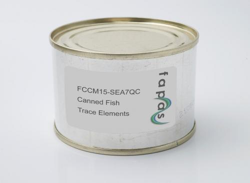 Heavy Metals in Canned Fish Quality Control Material